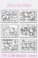Livro de Colorir Hello Kitty - screenshot 4