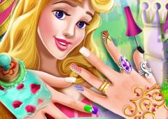 Manicure da Princesa Aurora