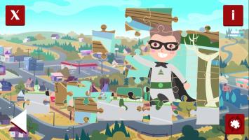 Mini Superhero Jigsaw - screenshot 1