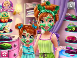 Mude o Visual de Anna e Sua Filha - screenshot 1
