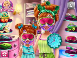 Mude o Visual de Anna e Sua Filha - screenshot 2