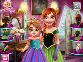 Mude o Visual de Anna e Sua Filha - screenshot 3