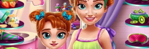 Mude o Visual de Anna e Sua Filha