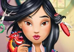 O Salão de Cabeleireiro da Mulan