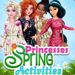 Jogo Primavera Com As Princesas Disney