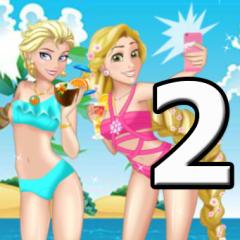 Jogo Princesas Disney na Praia 2