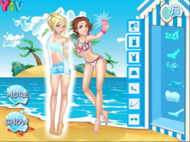 Princesas Disney na Praia 2 - screenshot 1