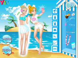 Princesas Disney na Praia 2 - screenshot 2
