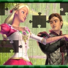Jogo Quebra-Cabeças da Barbie Princesa