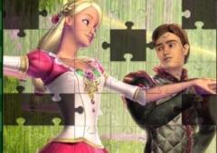 Quebra-Cabeças da Barbie Princesa