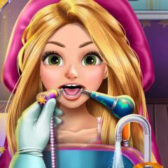 Jogo Rapunzel no Dentista