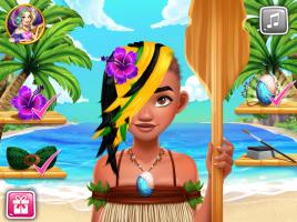Salão de Cabeleireiro de Moana - screenshot 3