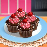 Jogo Sara Cozinha Cupcake de Chocolate