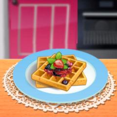Jogo Sara Cozinha Waffles Francesas