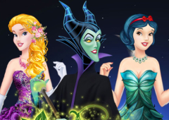 Transforme as Vilãs em Princesas da Disney