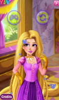 Um Dia No Spa Com Rapunzel - screenshot 4