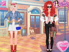 Jogos De As Vestir Fashionistas Amigas No Meninas IyvbYf76gm