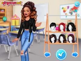 Vista 6 Moças Famosas na Escola - screenshot 1