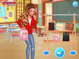 Vista 6 Moças Famosas na Escola - screenshot 2