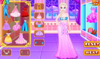 Vista Anna e Elsa Para o Jantar - screenshot 1