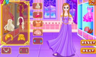 Vista Anna e Elsa Para o Jantar - screenshot 2