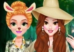 Vista as Princesas no Safari
