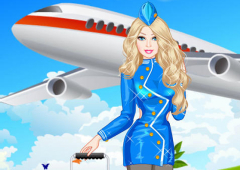 Vista Barbie Aeromoça