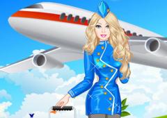 Vista Barbie Aeromoça