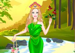 Vista Barbie Princesa Terra