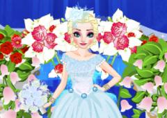 Vista Elsa no Casamento
