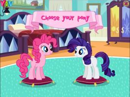 Vista Rarity e Pinkie Pie - screenshot 1