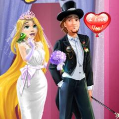 Jogo Vista Rapunzel Noiva