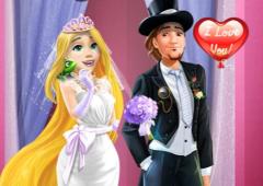 Vista Rapunzel Noiva